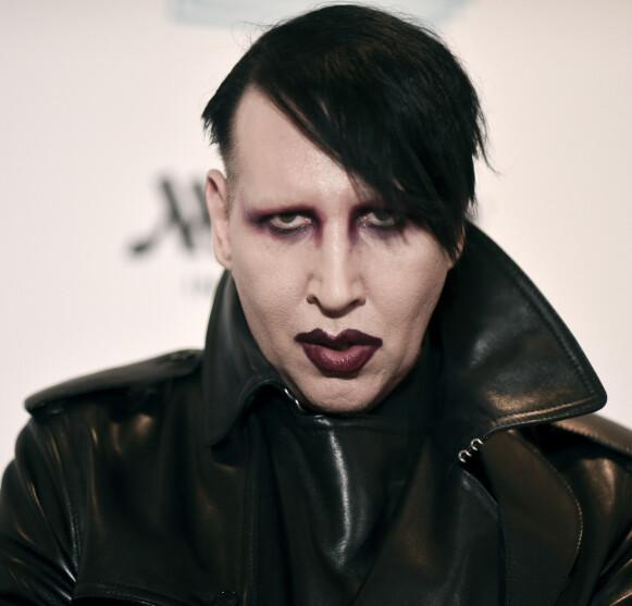 METAL: Navnet Marilyn Manson passet bedre til metal-artisten enn hans virkelige navn. Foto: Richard Shotwell / AP / NTB