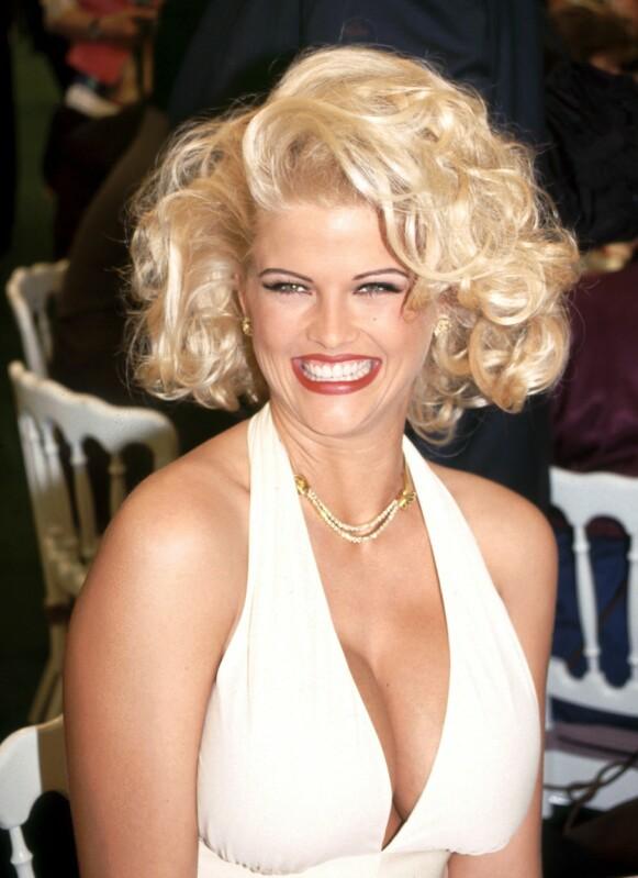 IKONISK: Anna Nicole Smith var et ikon i Hollywood tiden hun levde. Foto: Alex Berliner / BEI / REX / NTB