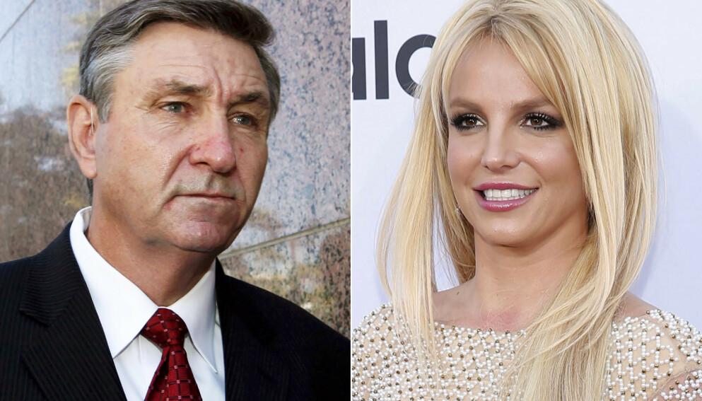 VERGEMÅL: De seneste årene har James Spears vært Britneys verge. Nå avslører en nær familievenn sjokkerende påstander. Foto: AP Photo / NTB