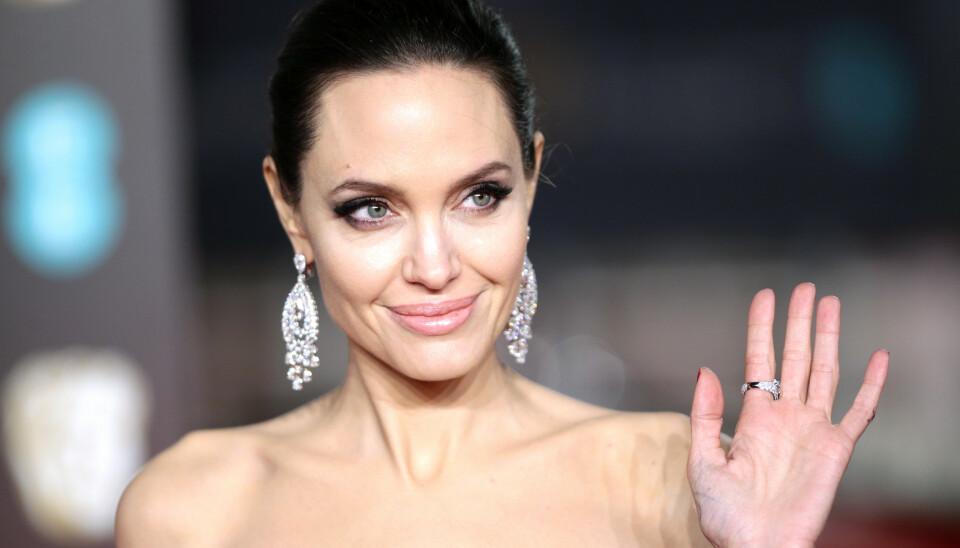 NY FLØRT?: Angeline Jolie ble nylig observert med sangstjernen The Weeknd. Det har sparket i gang ryktene. Foto: House of Commons / NTB