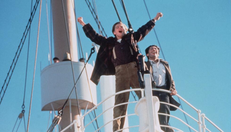 VILLE IKKE: Denne scenen er blant filmens mest populære. DiCaprio skal likevel ikke ha likt replikken han ble tildelt. Foto: Merie W Wallace/20th Century Fox/Paramount/Kobal/REX/NTB