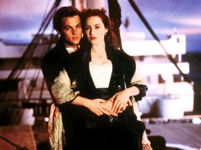 HOVEDROLLE: Leonardio DiCaprio og Kate Winslet spilte hovedrollene i suksessfilmen. Foto: 20th Century Fox/Paramount/Kobal/REX/NTB