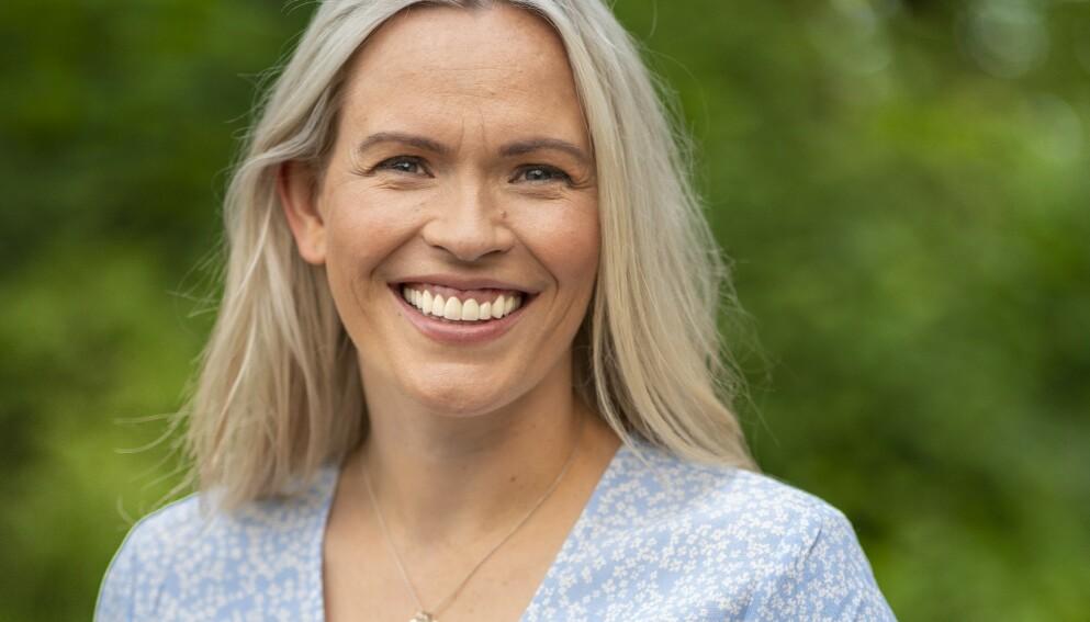 MAMMA: Carina Olset ble i desember mamma for andre gang. Foto: Espen Solli / Se og Hør