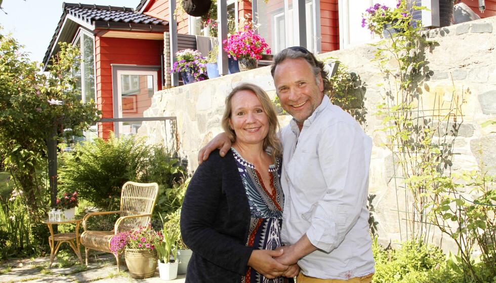 INNHOLDSRIKT: Andreas fra «Tid for hjem» har levd et langt og innholdsrikt liv. Hagen han eier sammen med kona Ellen, har vært sentrum for flere av livets største hendelser. FOTO: Bent Are Sigvaldsen
