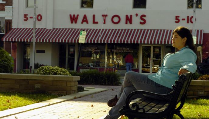 WALTON'S: Det var her, i Bentonville, Arkansas, veien mot Walmart-imperiet startet. I dag er denne butikken et besøkssenter. Foto: April L. Brown / AP Photo / NTB