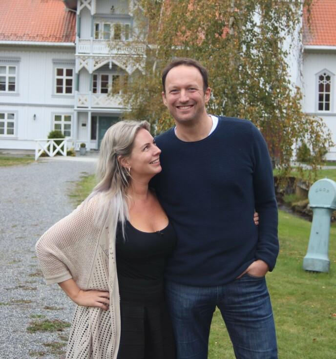 Be Parents: La coppia nella vita reale Else Strøm Larsen e Peter Theolin hanno avuto il loro primo figlio insieme a febbraio.  Foto: Kristen Stavasen/TV2