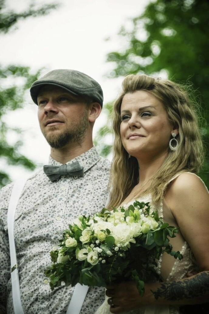 SA JA: Anja og Kai giftet seg i fjor. Ingen vet hvor lang tid Anja har igjen, hvis hun ikke får ny medisin.