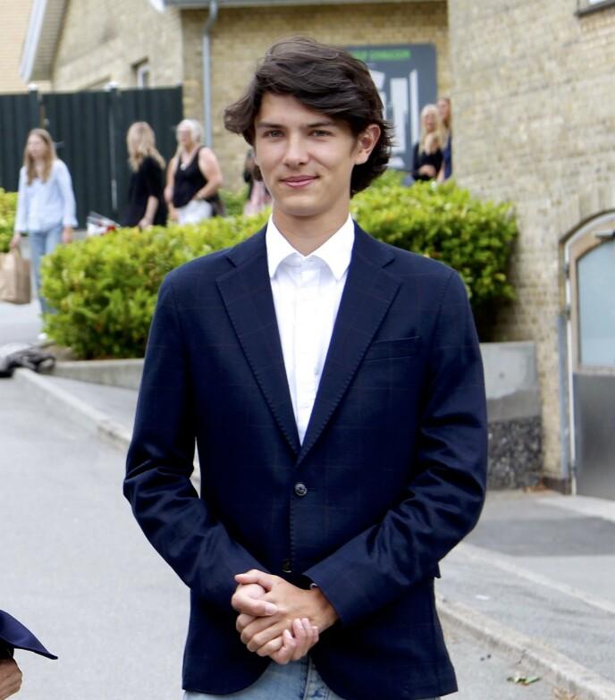 MODELLPRINS: Prins Nikolai flytter til Paris med kjæresten til høsten. Foto: Christophersen / PPE / SIPA / Shutterstock / NTB