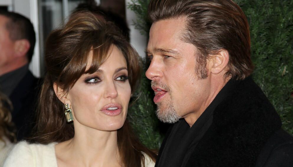 KRANGLINGEN FORTSETTER: Eksparet Brad Pitt og Angelina Jolies strid om ansvaret for barna fortsetter. Foto: Marion Curtis / Starpix / REX NTB