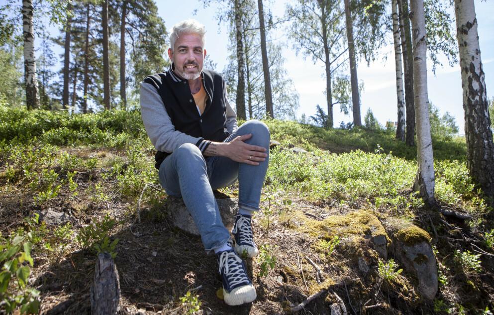 TRIST NYHET: Musiker og låtskriver Trygve Skaug meddeler i et Facebook-innlegg at han og kona har gått hver til sitt. Foto: Anders Grønneberg / Dagbladet