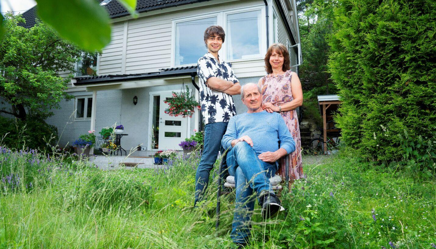 HER BOR VI: Alexander Rybak bor for tiden på gutterommet hjemme hos foreldrene. Til høsten har han derimot store planer, røper av overfor Se og Hør. FOTO: Espen Solli