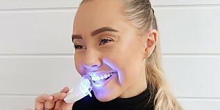 Image: Reklamerer for tannbleking: - Ingen effekt