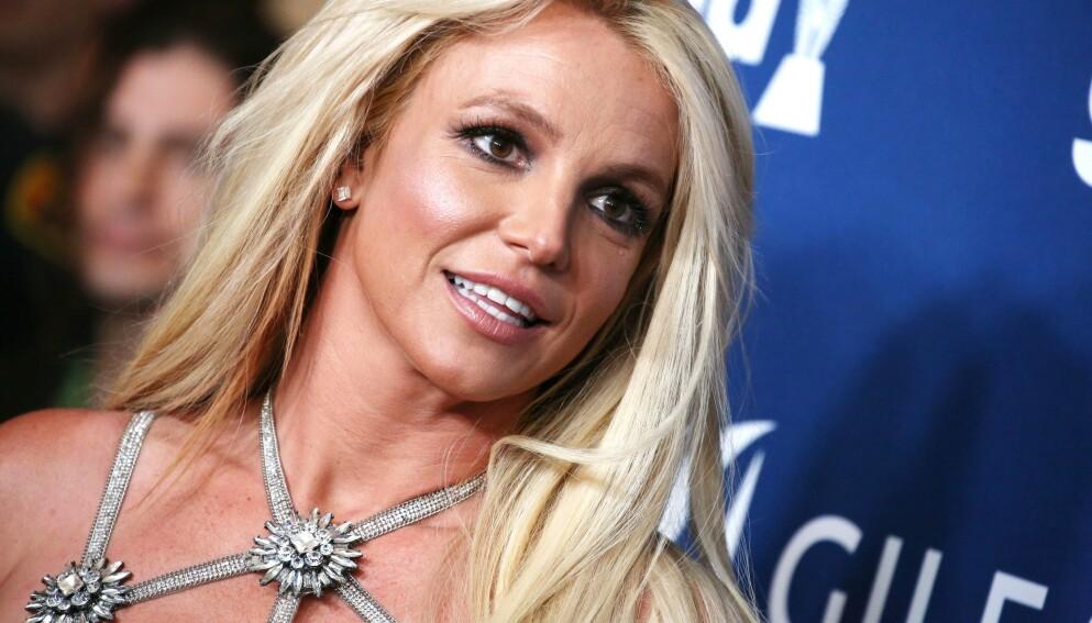 I HØRING: Popstjernen Britney Spears var i en ny høring om vergemålet onsdag. Foto: Matt Baron / REX / NTB