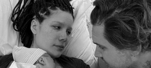 Ble foreldre - avslører babynavet
