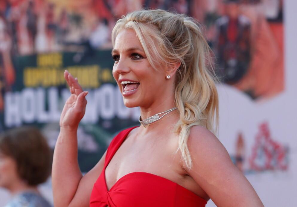 ANNULLERT: Britney Spears vinket ufrivillig farvel til sin tidligere ektemann. Foto: Mario Anzuoni / REUTERS / NTB