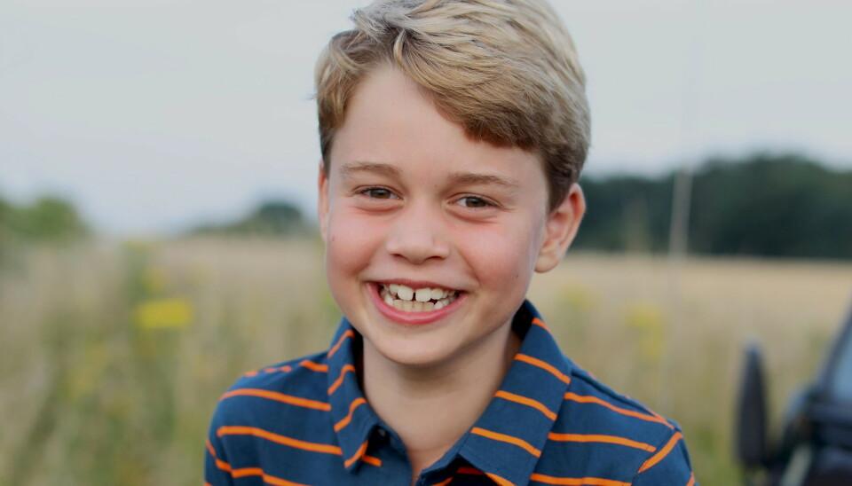 BURSDAG: Prins George, sønn av prins William og hertuginne Kate, fyller åtte år. Foto: Hertuginnen av Cambridge / REUTERS / NTB