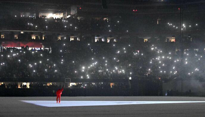 DONDA: Kanye West slipper denne uken et nytt album, til ære for moren Donda West. Foto: Paras Griffin / AFP / NTB