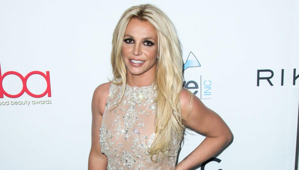 DELER BILDE: Britney Spears er en av verdens mest omtalte mennesker. Da hun fredag delte et toppløsbilde, fikk hun ikke mindre oppmerksomhet. Foto: Xavier Collin / Image Press Agency / NTB