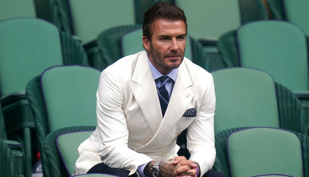 ULOVLIG: David Beckham var ikke helt oppdatert på reglene i Italia. Foto: Adam Davy / Pa Photos
