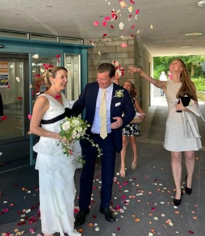 Image: Eks-prinsessen giftet seg i all hemmelighet