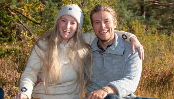 MØTTES TIL FINALE: Ingebjørg Monique Haram og Erik Rotihaug sto i finalen av «Farmen» i 2019. Sistenevnte stakk av med en hytte og en bil. Foto: Alex Iversen / TV 2