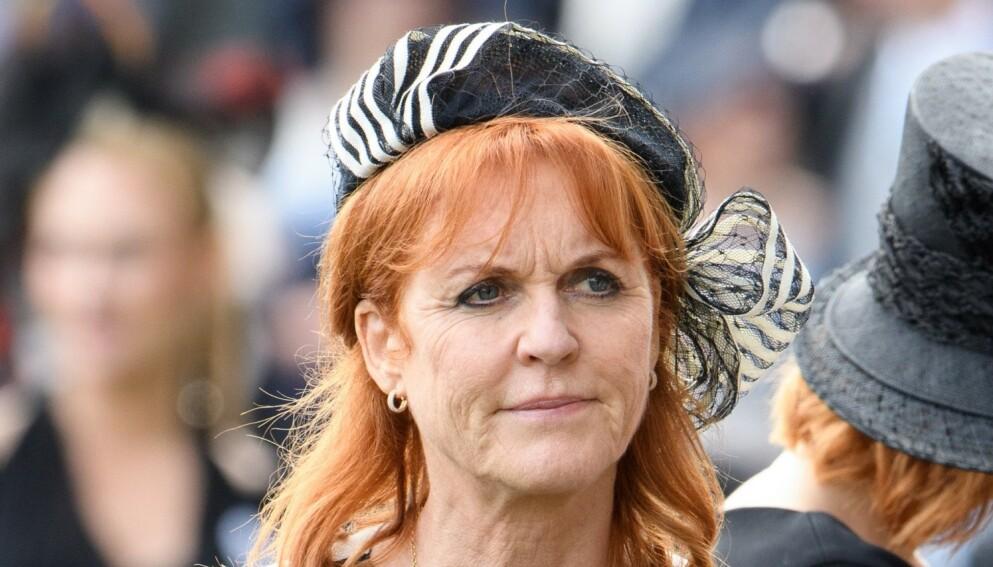 UTELATT: Sarah Ferguson fikk ikke delta i prinsebryllupet i 2011. Foto: Tim Rooke/REX/NTB