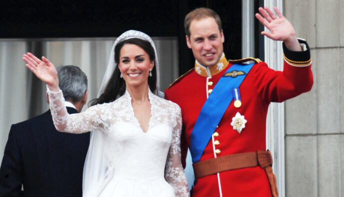 Stort bryllup: hertuginne Kate og prins William ble gift i 2011, men Sarah Ferguson ønsket ikke å komme. Foto: Alan Davidson / REX / NTB