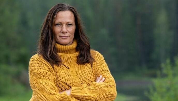 BÆRER INGEN NAG: Vivian Kvarvenn bedyrer at hun vil ta en kaffe med «Farmen»-Leif om de plutselig skulle sees igjen. Foto: Espen Solli / TV 2