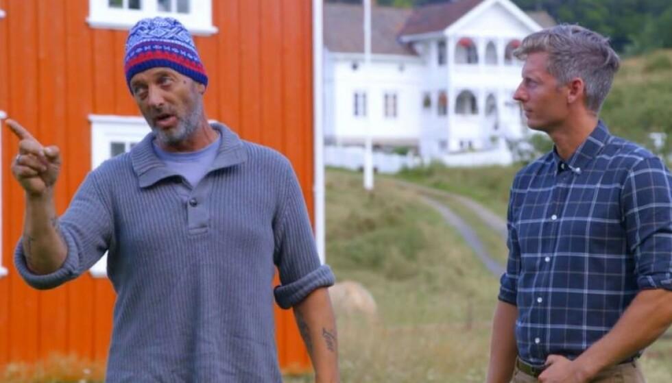 ILLSINT: «Farmen» -Leif rømte fra Tinget da han ble beskyldt for drapsforsøk for drøye to år siden. Foto: TV 2