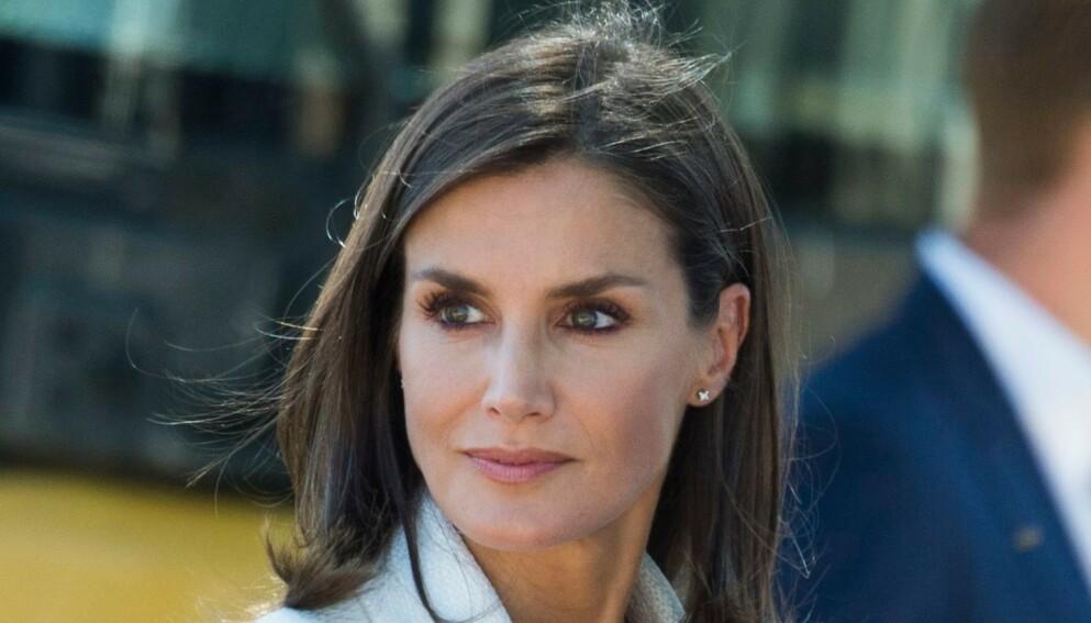 SØRGER: Spanias dronning er i sorg etter tapet av et nært medlem av familien. Foto: NTB