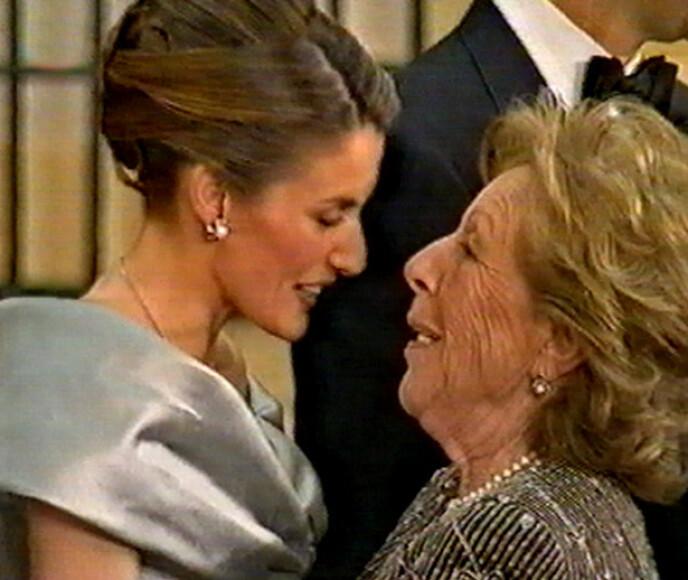 DØD: Dronning Letizias farmor ble 93 år gammel. Foto: Zuma Press / Europa press / NTB