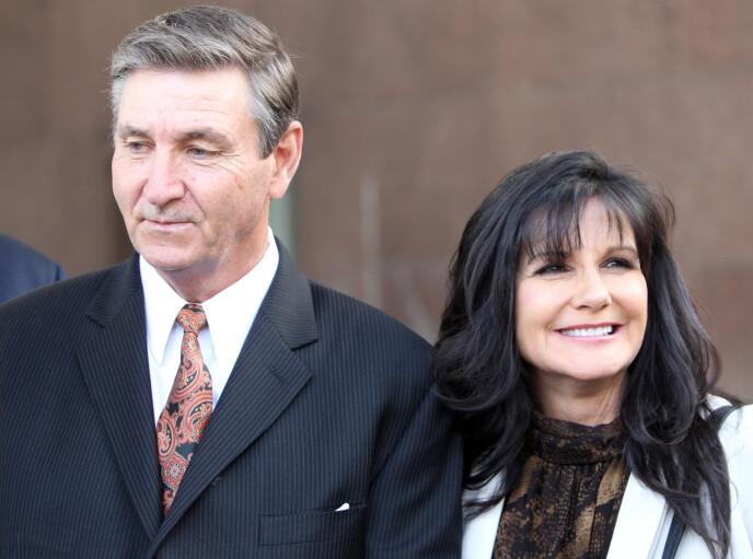 EKTEFELLER: Jamie og Lynne Spears var gift i 26 år. Nå er tonen en helt annen. Foto: REX / NTB
