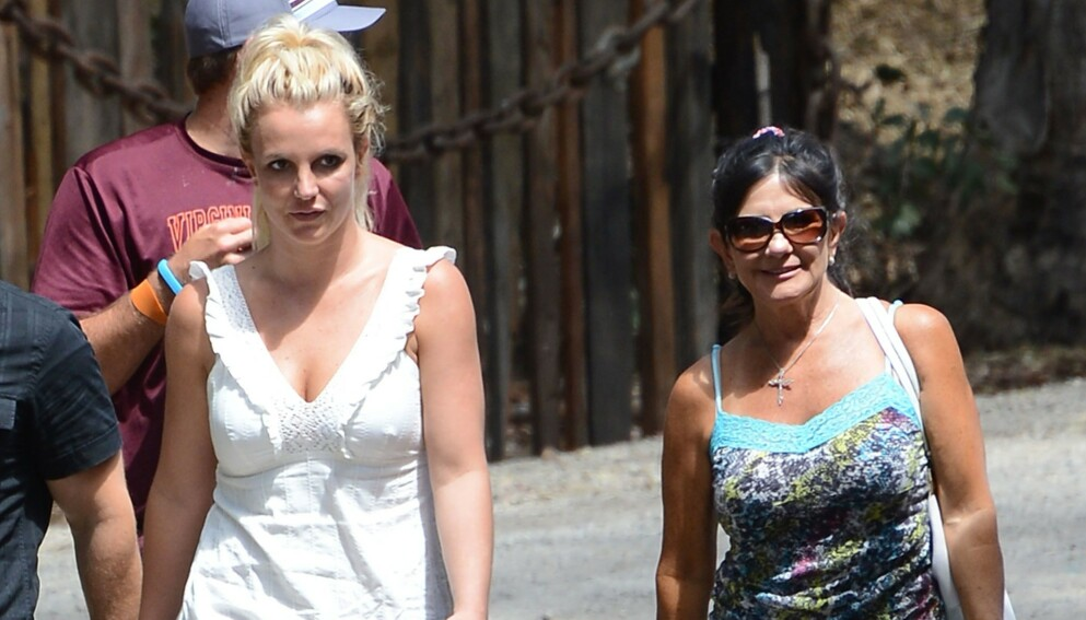 RASER: Popstjernen Britney Spears mor Lynne Spears raser mot eksmannen Jamie Spears. Foto: Broadimage / REX / NTB