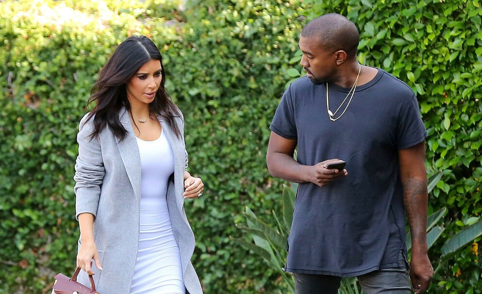 SAMARBEIDER: Det har gått over fem måneder siden Kim Kardashian og Kanye West annonserte at de skulle skilles. Foto: Broadimage / REX / NTB