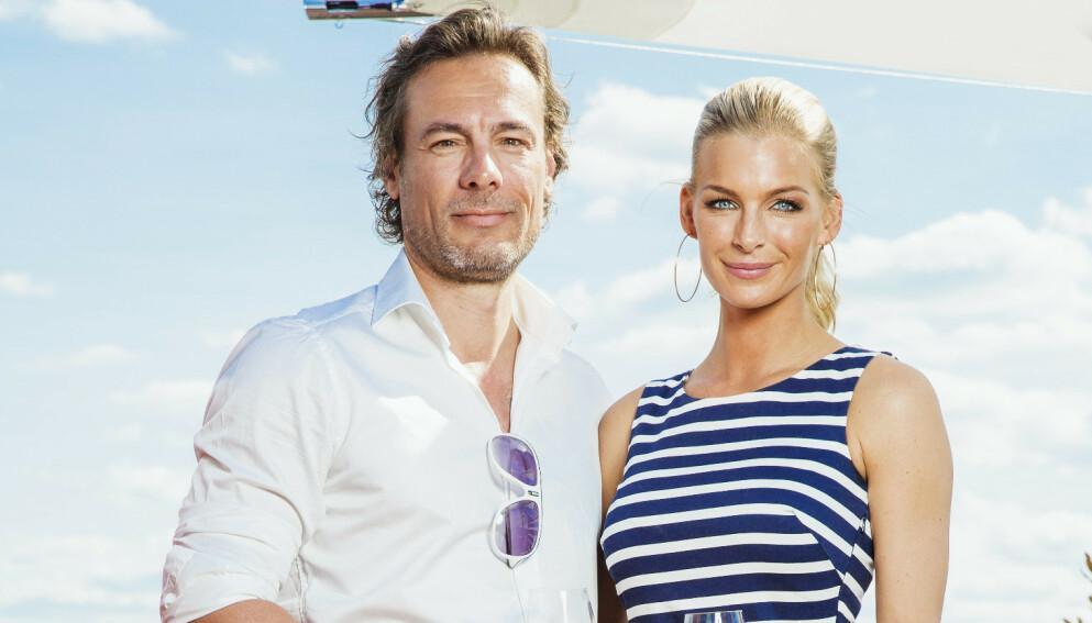 GJENFORENT: Kathrine Sørland og Andreas Holck kunne tidligere denne sommeren avsløre at de har funnet tilbake til hverandre. Foto: Espen Solli / Se og Hør