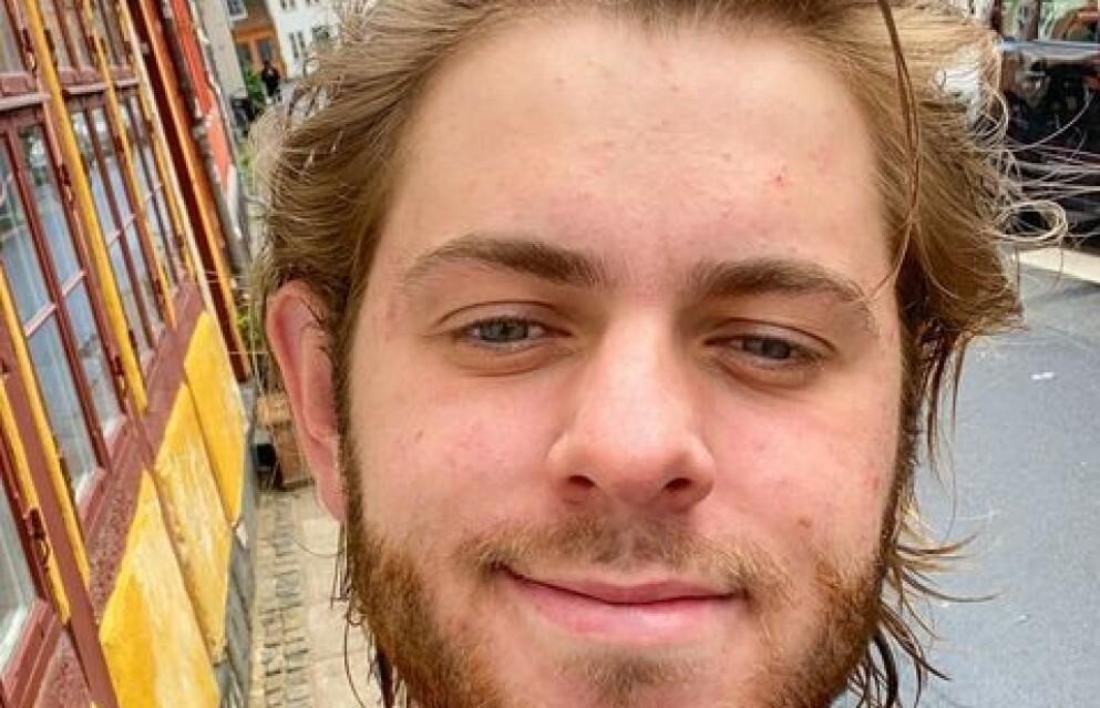 DØDE: Youtuber Albert Dyrlund omkom denne uka i Italia. Foto: Instagram