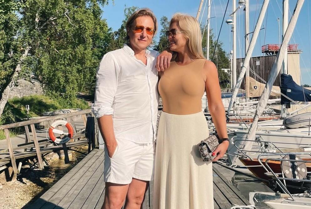 LYKKELIG FORELSKET: Paul Sandvik og Isabella Löwengrip traff hverandre for cirka ett år sida. Etterpå har de ikke sett seg tilbake. Foto: isabellalowengrip / Instagram