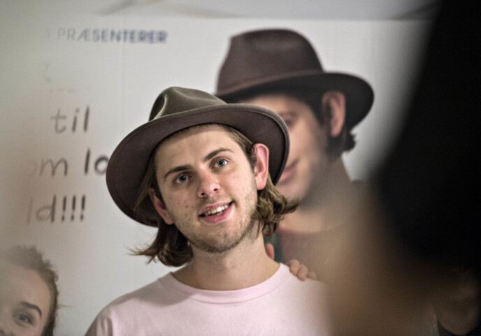 Death: Danish YouTuber and media personality only 22 years old.  Photo: Michael Pager / NDP