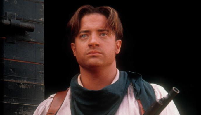 Star degli anni '90: Brendan Fraser è meglio conosciuto per il suo ruolo di Rick O'Connell nella trilogia di .