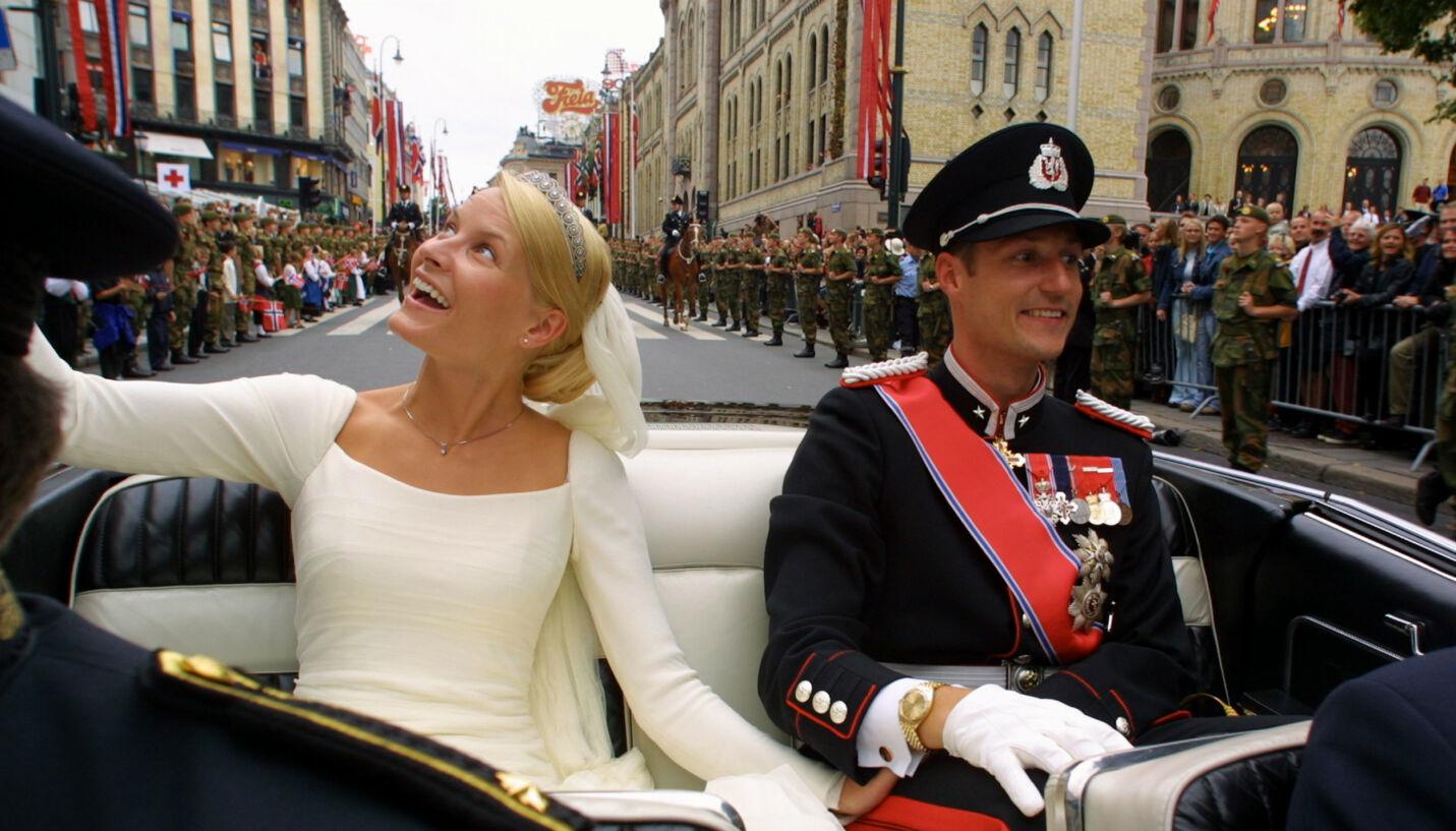 HOLDT HEMMELIG: Bare et fåtall mennesker var informert om dramaet i dagene før bryllupet, som førte til at statsministeren måtte informere kong Harald.
