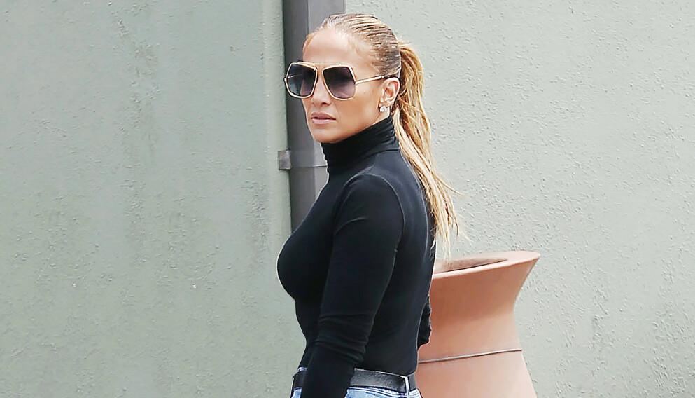 ENDRING: Jennifer Lopez har gjort en tydelig endring i sosiale medier. Foto: Splash News/NTB