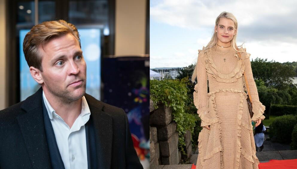 NY JOBB: Tobias Santelmann og Ulrikke Falch overrasker med nye jobber. Foto: Espen Solli og Andreas Fadum / Se og Hør