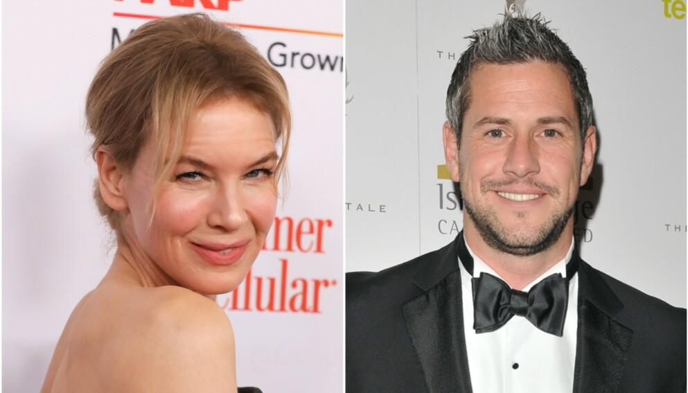 FORELSKET: Forholdet mellom Renée Zellweger og Ant Anstead ser ut til å bli stadig mer seriøst. Mark Von Holden/Invision/AP/Can Nguyen/REX/NTB