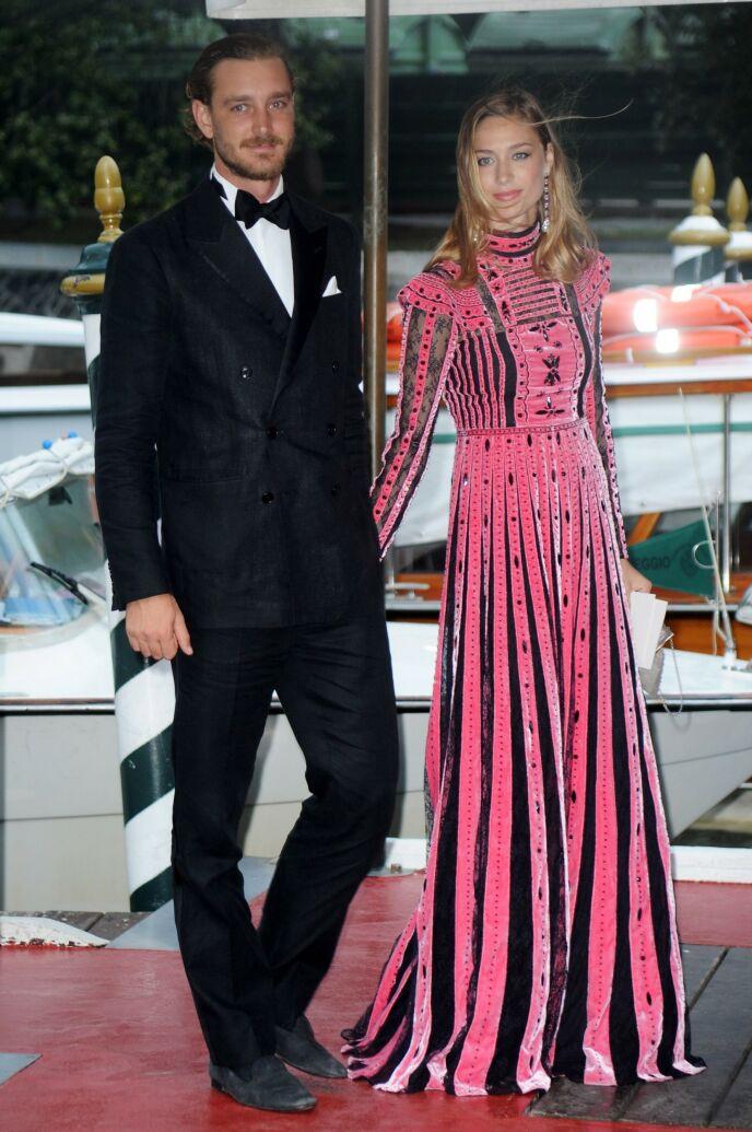 STILSIKKER: Pierre og Beatrice på Venice filmfestival i 2017. Foto: Shutterstock/NTB