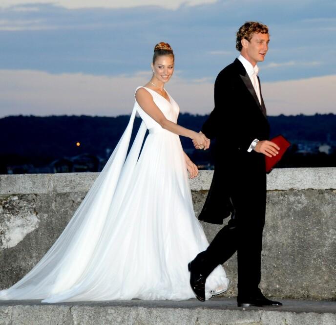 STORSLÅTT BRYLLUP: Beatrice giftet seg med Pierre for seks år siden. Foto: Shutterstock/NTB
