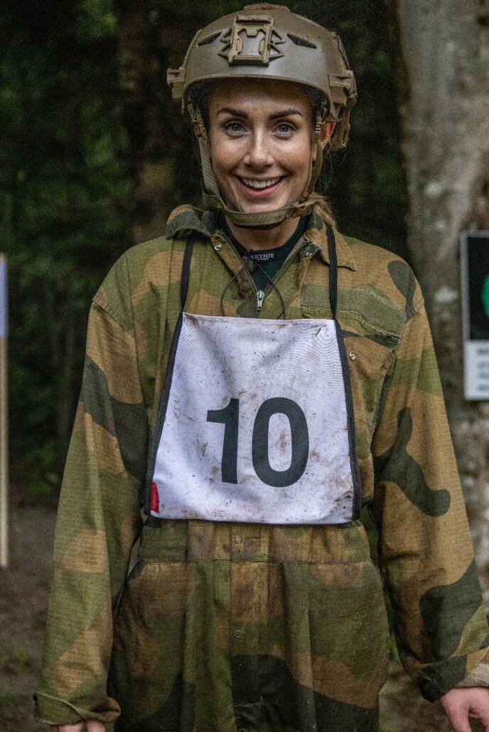 - SKAL VINNE: Tone Damli legger ikke skjul på at hun er med for å vinne. Foto: Matti Bernitz