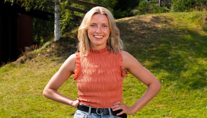 KLAR TIL KAMP: Heidi Lereng vil vinne, selv om hun har én hånd mindre enn samtlige andre deltakere. Foto: Espen Solli / TV2