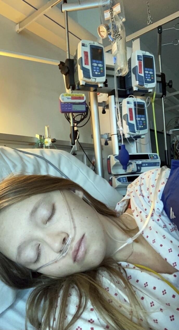 LIVET ENDRET: Emmas diagnose kalles også for «Selvmordssyndromet» – hennes tilværelse har blitt et mareritt. Foto: Privat