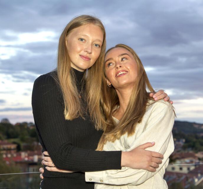 NÆRE: Storesøster Malene står bak initiativet om å samle inn penger til Emma på spleis.no. Foto: Svend Aage Madsen / Se og Hør