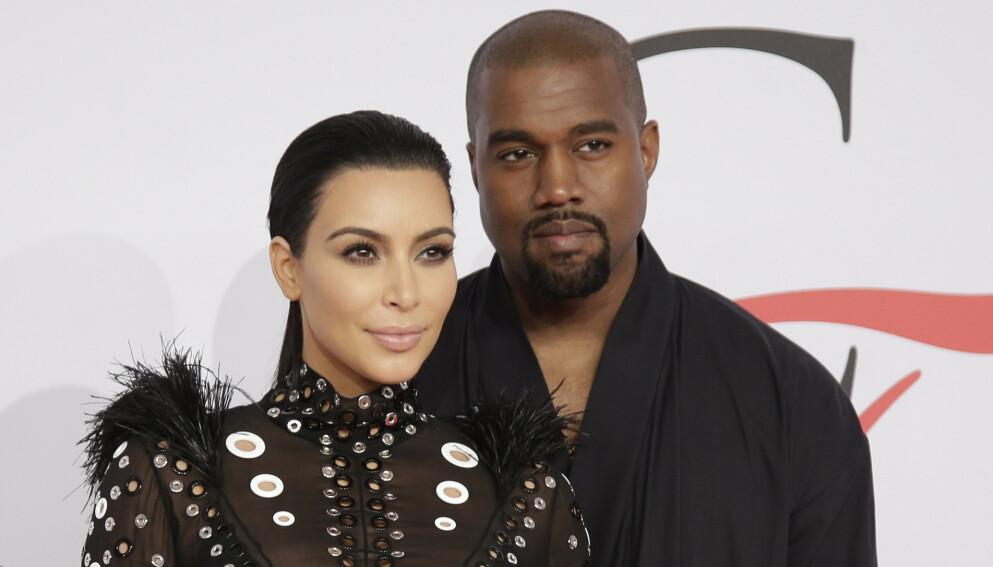 UTROSKAP: Det spekuleres på om Kanye West innrømmer utroskap mot ekskona Kim Kardashian i en av sine nye låter. Foto: John Angelillo / Shutterstock / NTB